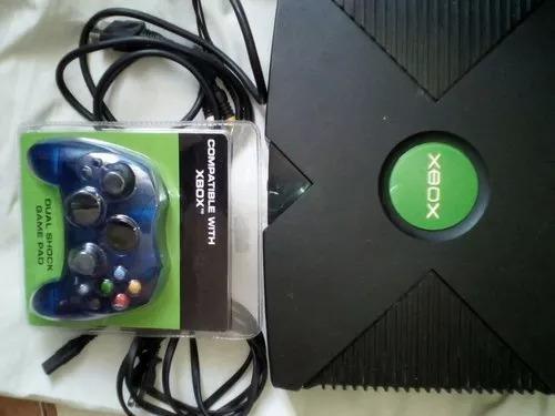 Xbox Clásico Funciona Con Lector Cpu +1200 Emuladores Dd 40