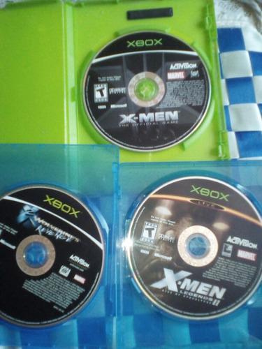 Xbox Clásico Lote Juegos Coleccionables X Men