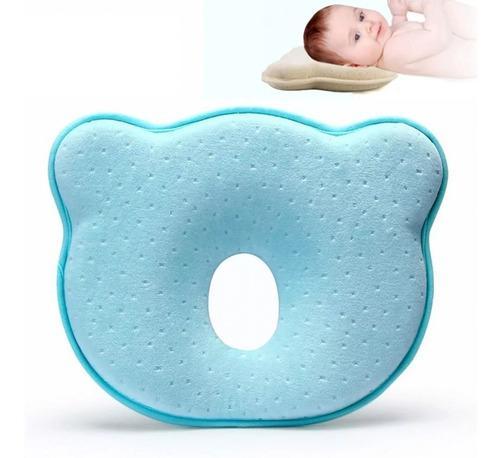 Almohada Para Bebé Recién Nacido Forma De Oso Suave Y