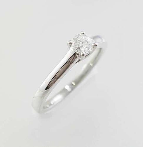 Anillo De Compromiso En Oro De 14k Con Diamante Envío