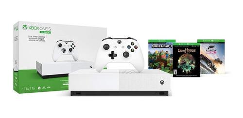 Consola Xbox One S 1tb All Digital Con 3 Juegos Digitales