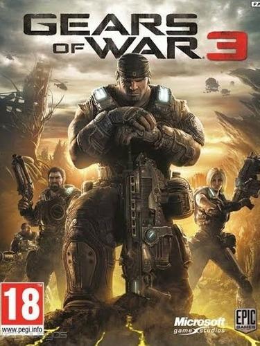 Gears Of War 3 Para Xbox One Y Xbox 360 + Envío Inmediato