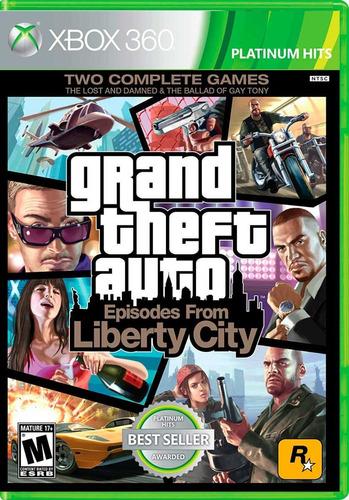 Grand Theft Auto Episodes Of Liberty City - Xbox 360