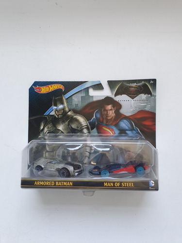 Hot Wheels Edicion Coleccion Batman V Superman 100% Original
