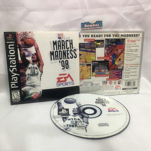 Ps1 Juego March Madness 98 Ncaa