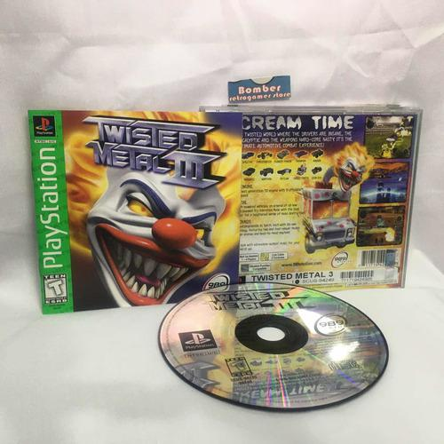 Ps1 Juego Twisted Metal 3