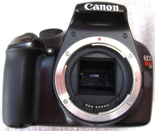 Canon T3 Cuerpo Cámara Digital Eos Rebel Sin Lent Muy Buena