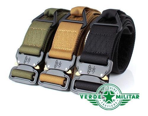 Cinturón Táctico Militar De Asalto Hebilla Metálica De