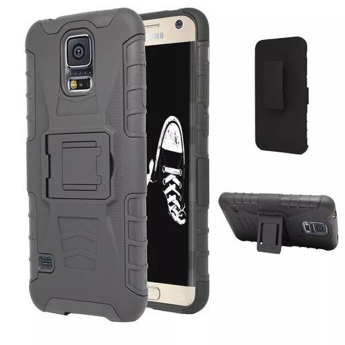 Funda Case Clip Uso Rudo Galaxy S7 Edge