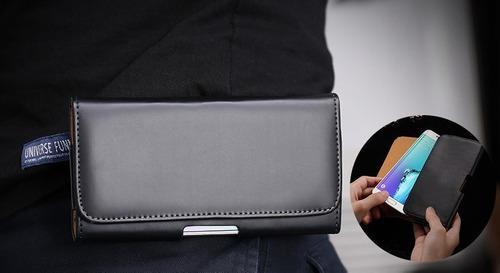 Funda Clip Cinturon De Lujo Para Motorola Moto G8 Play