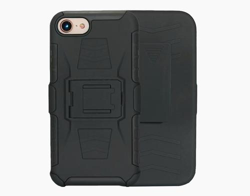 Funda Uso Rudo Con Clip iPhone 7 Plus / iPhone 8 Plus + Cris