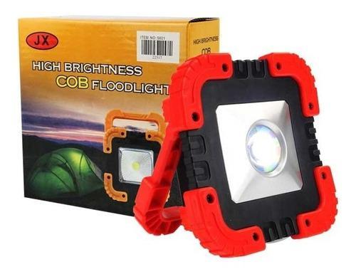 Lampara Linterna Reflector Led Solar C8s Recargable
