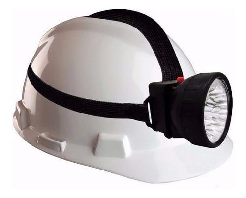 Linterna Tipo Minero Ajustable Para La Cabeza Lámpara 7