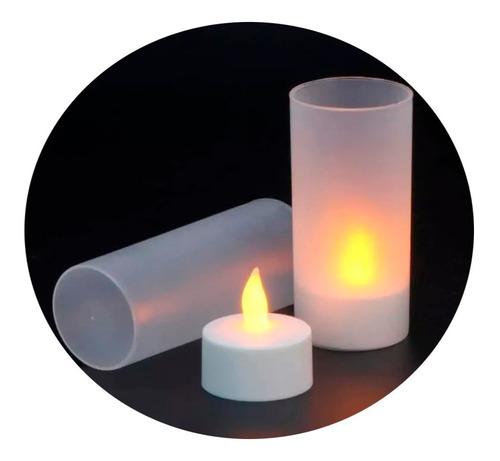 Vela Luz Led Veladora Xv Boda Decoracion Mesa Adorno