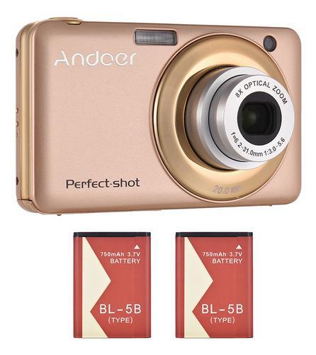 Andoer 20mp 720p Hd Cmara Digital Videocmara Con 2pcs