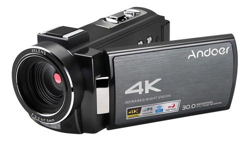 Andoer Hdv-ae8 4k Cámara De Video Digital Wifi Videocámara