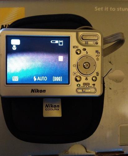 Camara Digital Nikon Coolpix S1