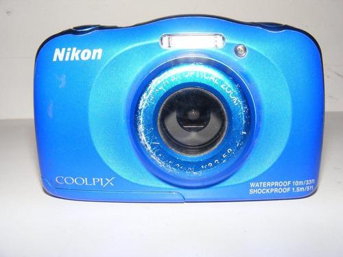 Camara Digital Nikon Coolpix S33 Para Reparar O Refacciones
