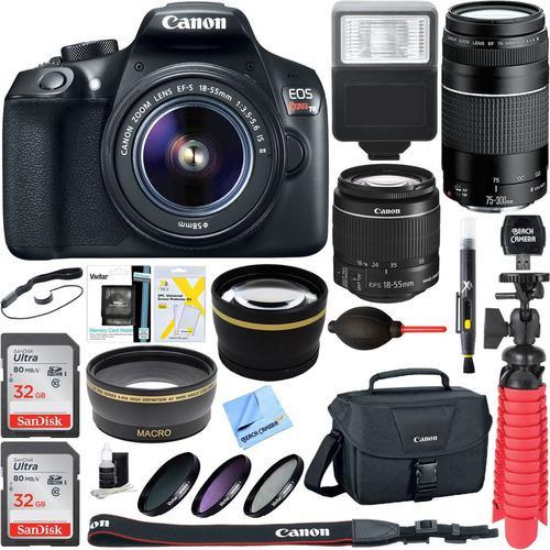 Canon Eos Rebel T6 Cámara Réflex Digital Con Ef S 18 55 Mm