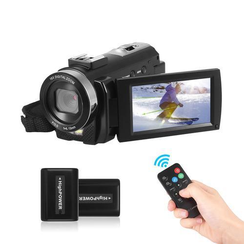 Cámara De Video Digital Filmadora Andoer Hdv-201lm 1080p Fh