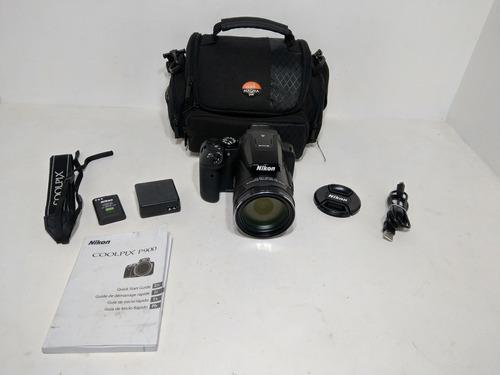 Cámara Digital Compacta Nikon Coolpix P900 Wifi Negro 83x
