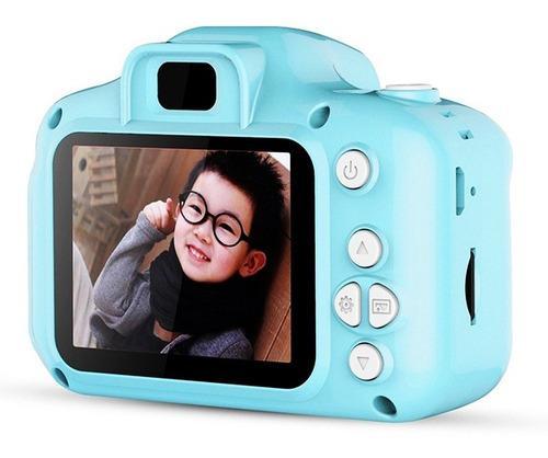 Cámara Digital Para Niños Azul Foto Grafía Dc500 Mini 108
