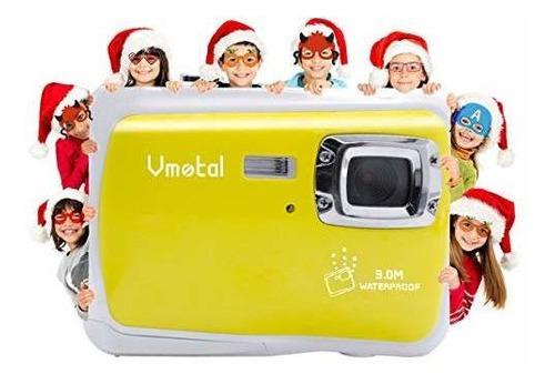 Cámara Digital Para Niños, Impermeable, Vmotal, Para