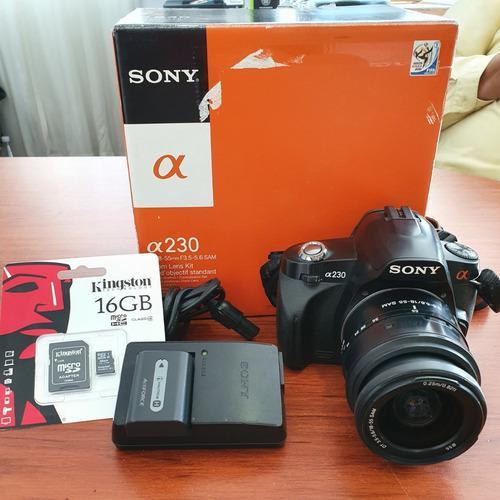 Cámara Digital Sony Alpha A230