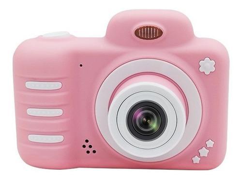 Cámara Digital Vídeo 800w Para Niños 2448p Rosa