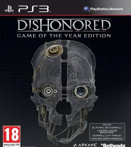 Dishonored Edicion Juego Del Año Ps3