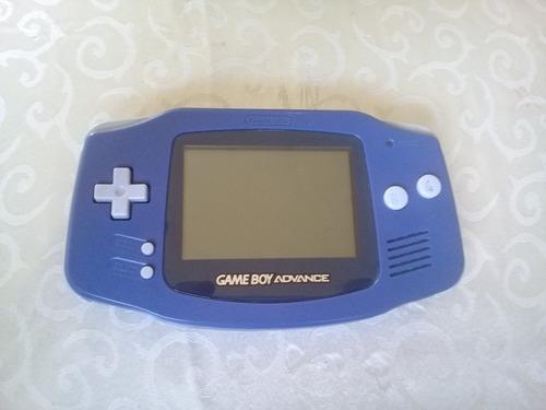 Excelente Gameboy Advance Azul Con Funda Original