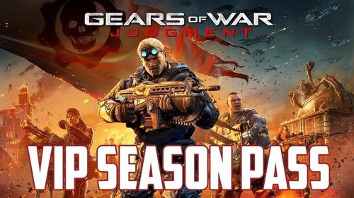Gears Of War Judgment Vip Pass