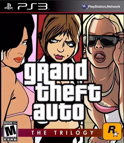 Grand Theft Auto Trilogia 3 Juegos!! Ps3
