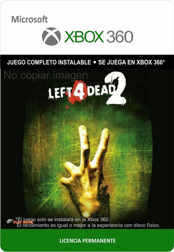 Left 4 Dead 2 Xbox 360 - Envío Gratis --