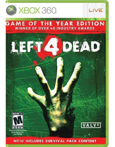..:: Left 4 Dead Game Of The Year Edition::.. Para Xbox 360