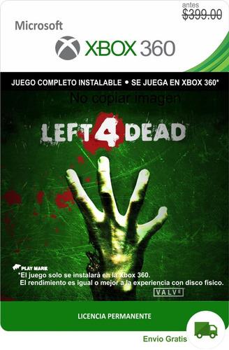 Left 4 Dead Xbox 360 * Permanente *