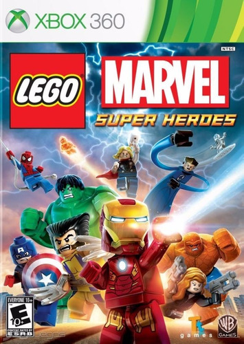 Lego Marvel Super Heroes Xbox 360 Nuevo