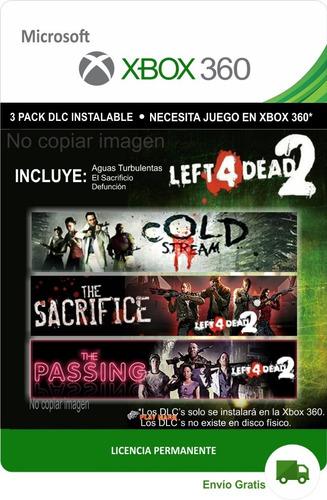 Mapas Dlc Escenarios Left 4 Dead 2 Xbox 360 -- Envío Gratis
