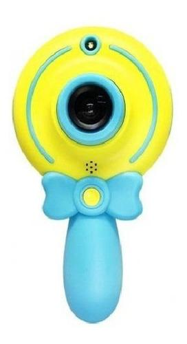 Mini Camara Forma Paleta Digital Niños Fullhd 1080p Flash