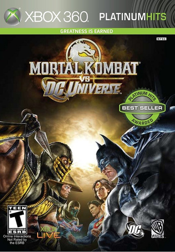 : Mortal Kombat Vs Dc Universe Para Xbox 360 Nuevo: Bsg