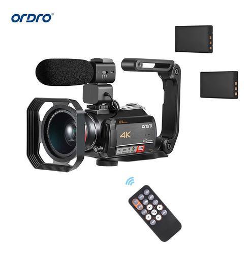 Ordro Ac5 4k Wifi Cámara De Vídeo Digital Videocámara