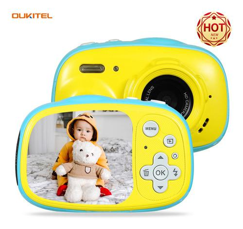 Oukitel Q1 Mini Cámara Digital Para Niños 5mp Pantalla Ips