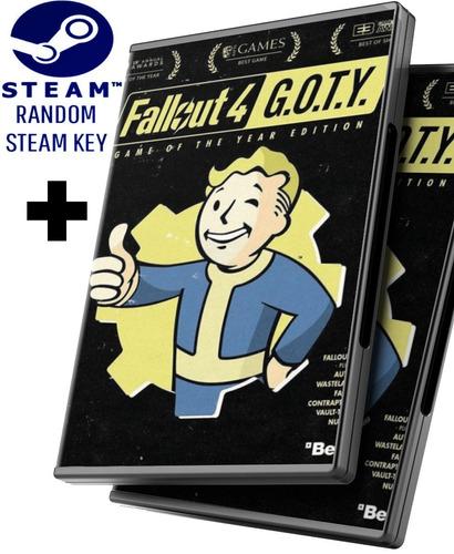 Random Steam Key + Fallout 4 Edición Juego Del Año + Dlcs