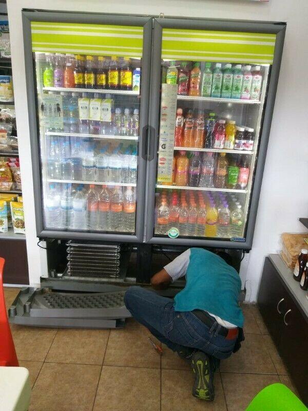 Reparación de Refrigeradores y Enfriadores Comerciales y
