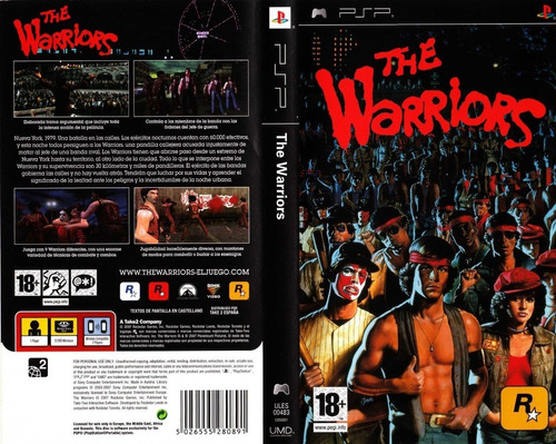 The Warriors Juego Psp, Android, Pc