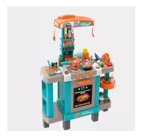 Cocina Cocinita Infantil Luz, Sonido Y Agua Little Chef Set