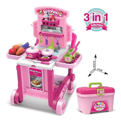 Cocina My Kitchen Little Chef 3 En 1