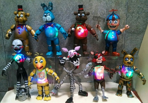 Five Nights At Freddy's Colección 10 Personajes