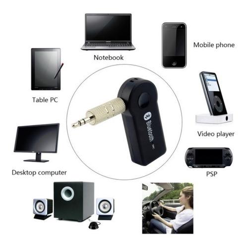 Receptor Inalámbrico Bluetooth Manos Libres Aux 3.5 Mm