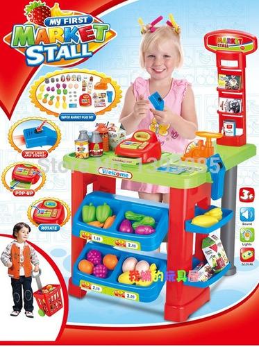 Súper Mercado Infantil De Juguete Niñ@ Caja Registradora